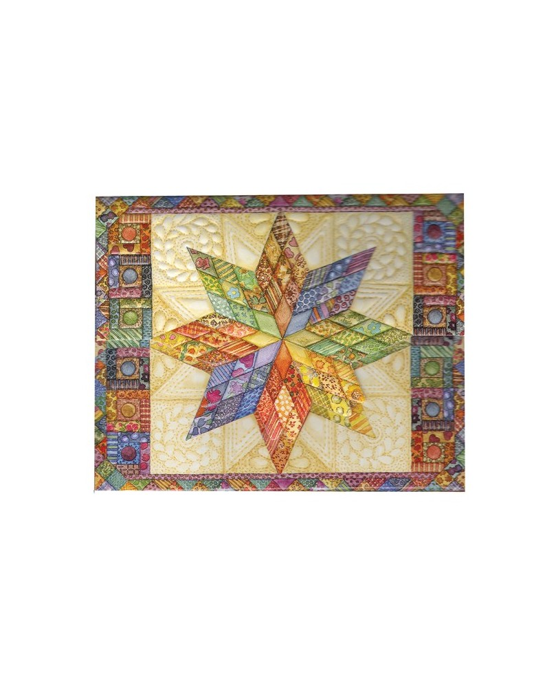 Carol Wilson Star Quilt Note Cards