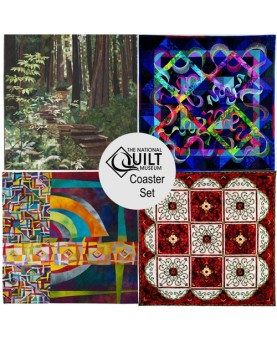 National Quilt Museum Coaster Set (4 coasters)