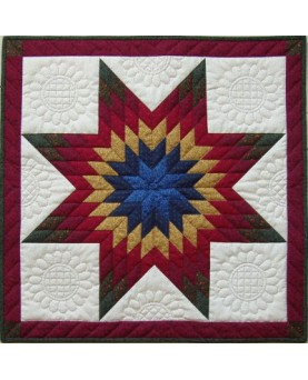 "Lone Star Wall Quilt Kit 22"" x 22"""