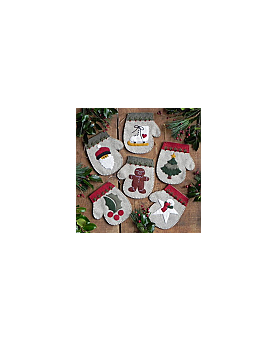 Warm Hands:  Kit to make six ornaments
