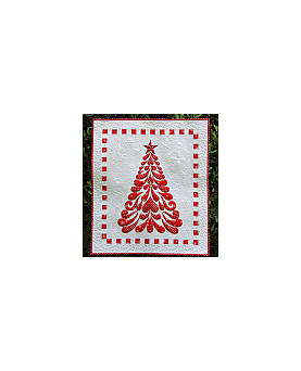 Feathered Christmas Quilt Pattern