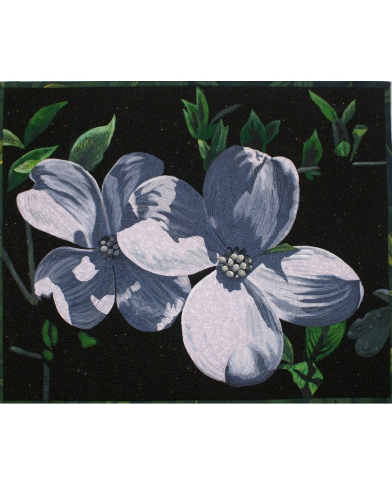 Dogwood Blossoms Quilt Pattern