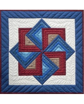 StarSpin Wall Quilt Kit 22 x 22