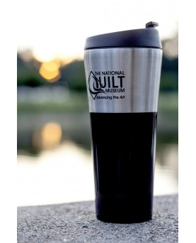 Stainless Steel National Quilt Museum Travel Mug