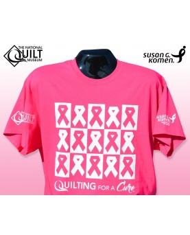 """""""Quilting for a Cure"""" Shirt"""