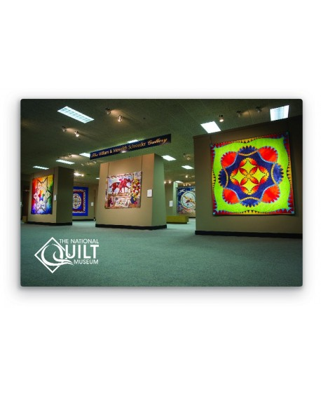 Lustrous Metal National Quilt Museum Gallery Print